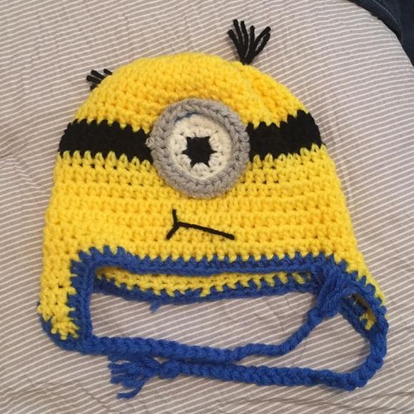 Accessories Knitted Minion Hat Poshmark